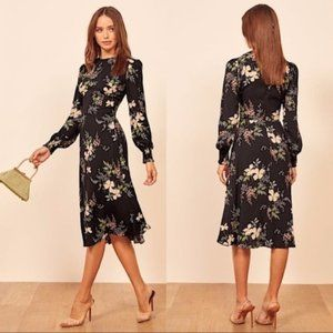 NEW Reformation Kellan Isabella Floral Midi Dress
